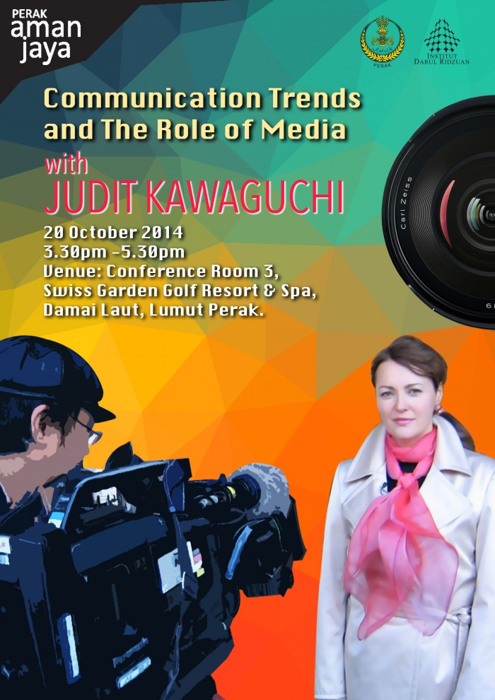 Judit Kawaguchi at the Pangkor International Development Dialogue