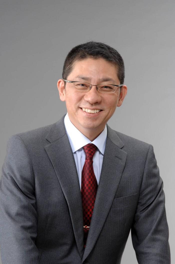 Morinosuke Kawaguchi in suit