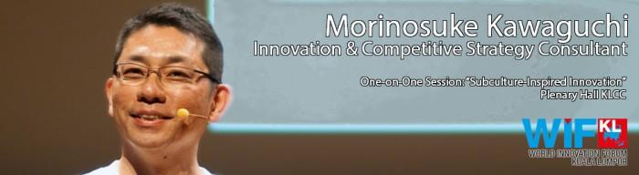 Morinosuke Kawaguchi at the World Innovation Forum Kuala Lumpur 2013