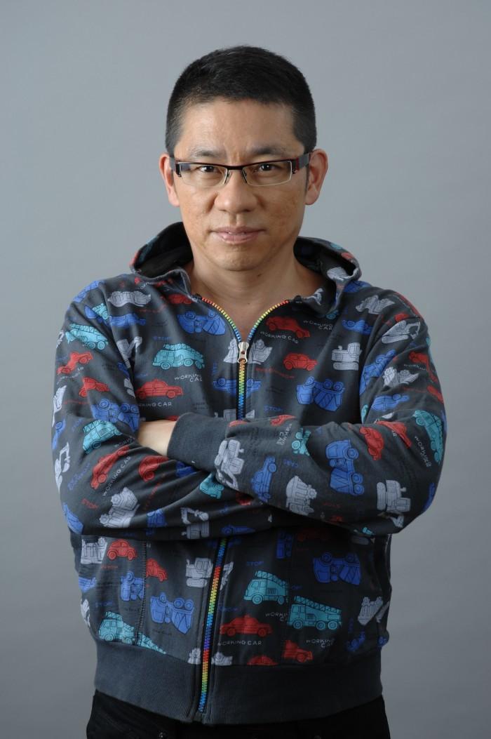 Japanese futurist, innovation expert & designer Morinosuke Kawaguchi photographed in Tokyo