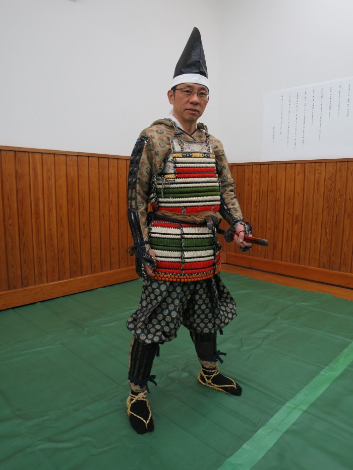 Morinosuke The Samurai Kawaguchi is now ready!